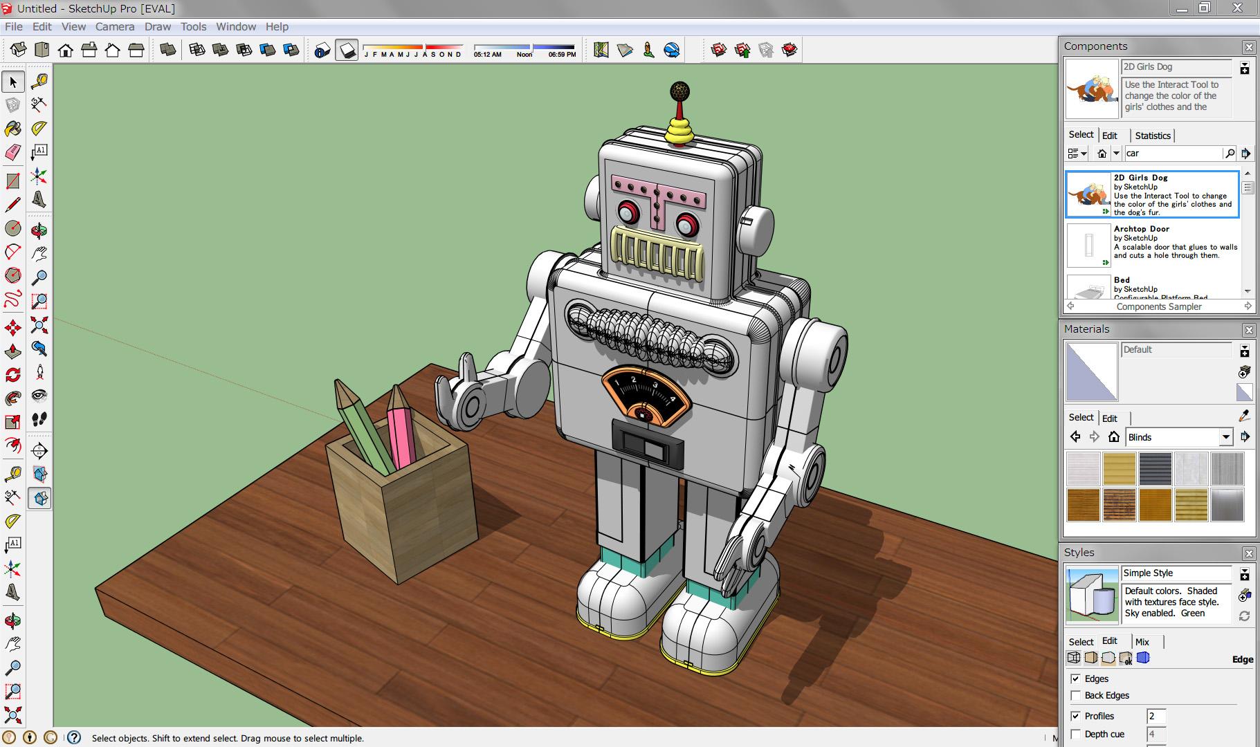 Sketchup 3d Design Software Overview  Think3d