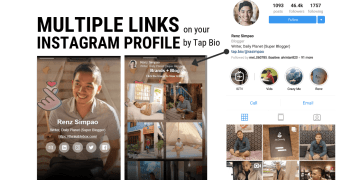 Multiple Links on your Instagram Profile