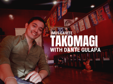 Takomagi in Imus with Dante Gulapa