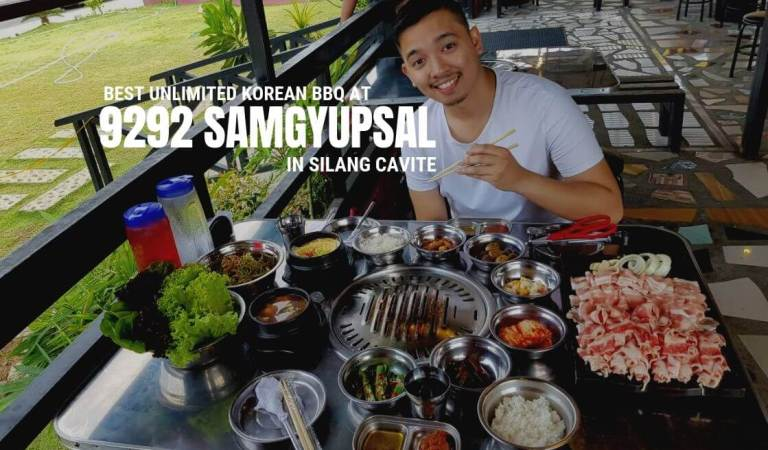 Best Unlimited Korean BBQ at 9292 Samgyupsal in Silang Cavite