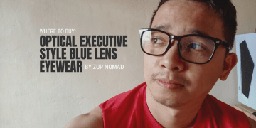 Where to Buy Optical Executive Style Blue Lens Eyewear by Zup Nomad