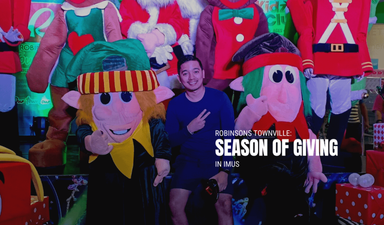 Robinsons Townville: Season of Giving in Imus