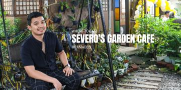 Severos Garden Cafe in Amadeo