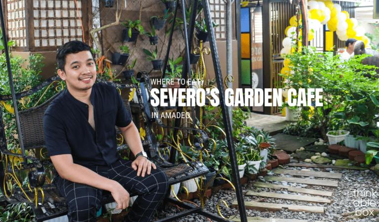Severo's Garden Cafe in Amadeo
