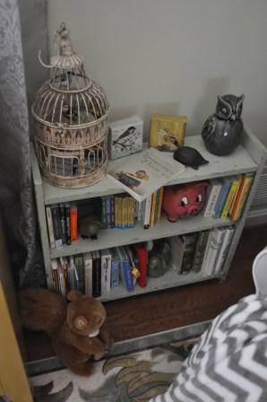 I think she has enough books, too.