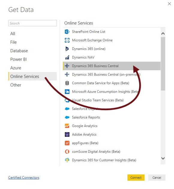 How Do I: Add and Link a Power BI Report to a page in Business