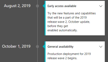 Overview of Dynamics 365 Business Central April '19 release