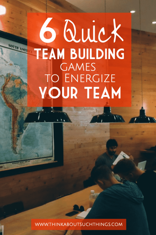 Quick Team Building Games and Exercises