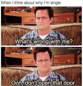 don't open that door meme dating single