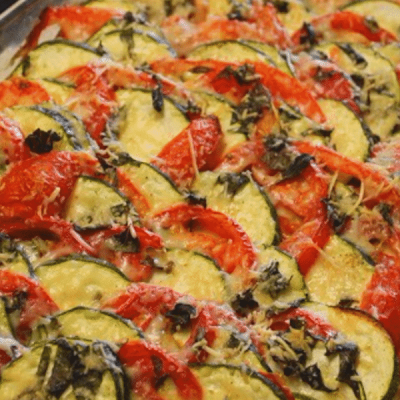 Easy French Inspired Zucchini And Tomato Tian