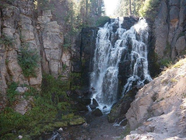 Waterfalls in Northern California King Creek Falls