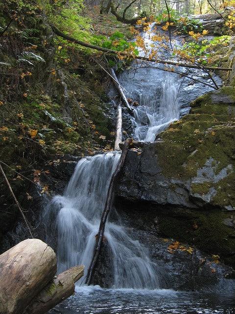 Waterfalls in Northern California Boulder Creek Falls