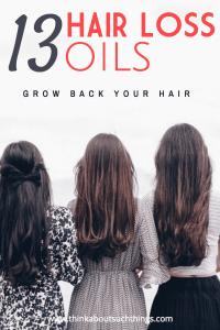 Hair Loss oils