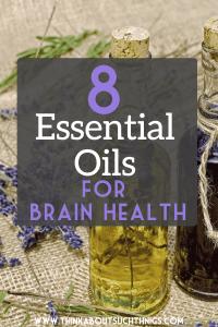 Essential oils for brain health