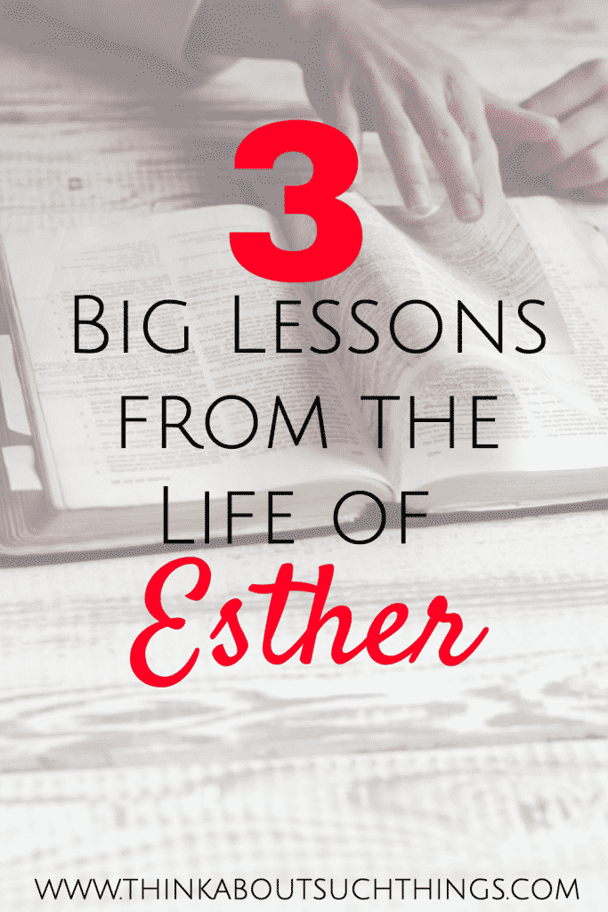 lessons from the life of esther