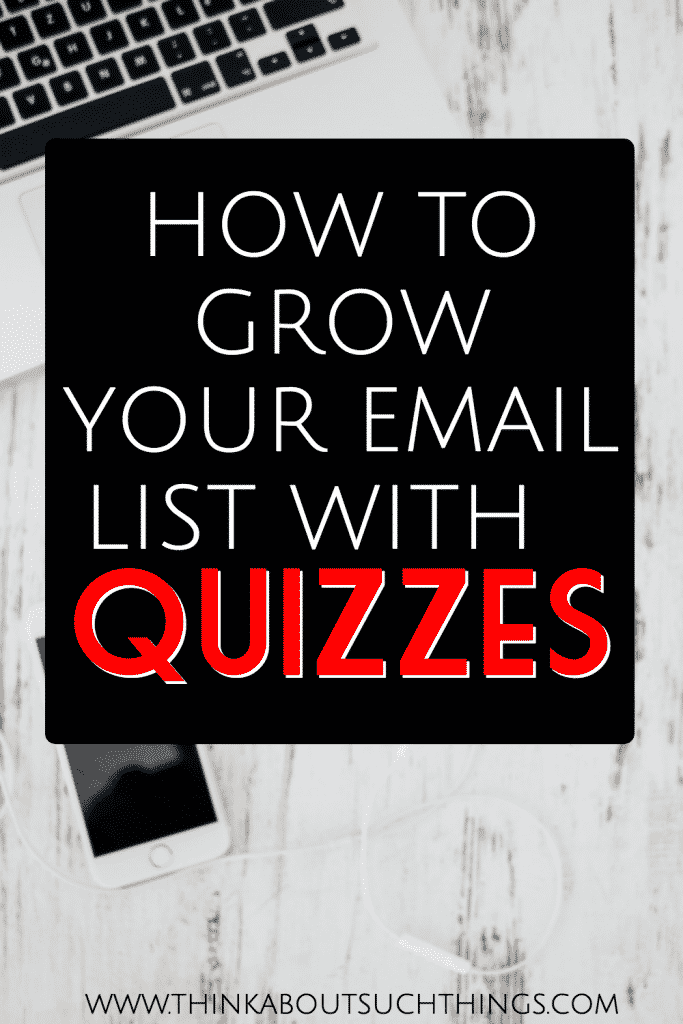 It is possible to Grow your email list with quizzes. Learn how you can start doing it on your blog!