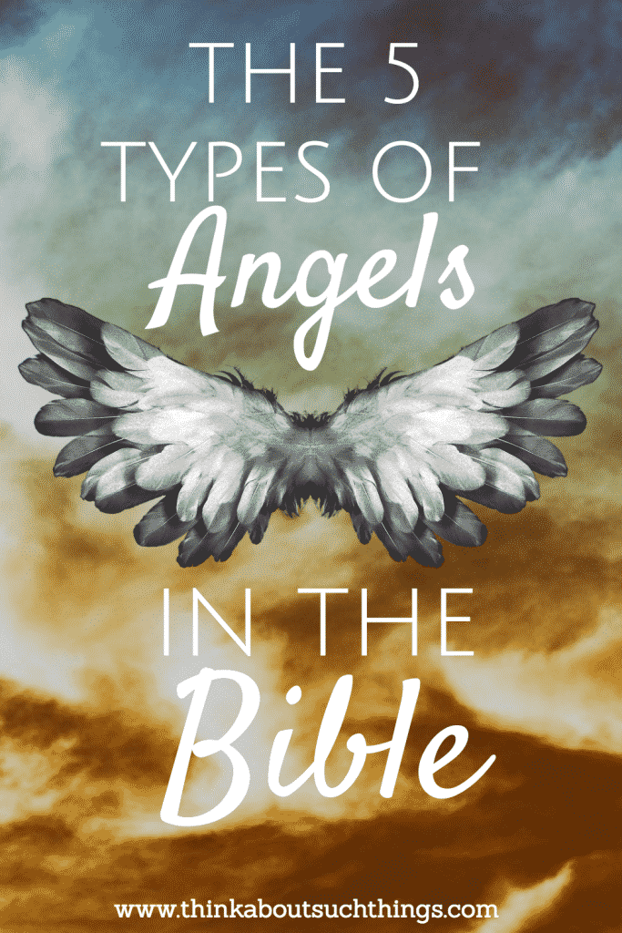 Learn the 5 types of angels in the Bible