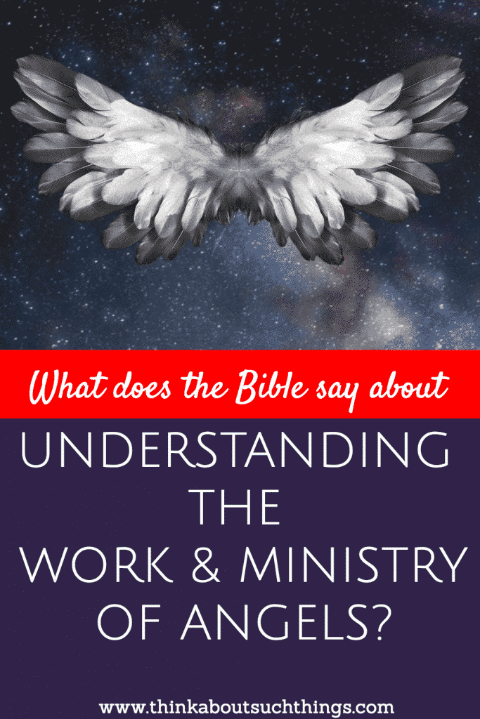 Angels do all kinds of things! Check out what the Bible says what they do in your next Bible Study!