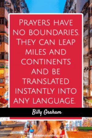 Billy Graham Quotes on prayer