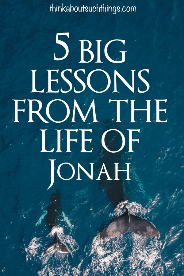 The book of Jonah is rich in wisdom for Christians today. We can learn so much about ourselves through these 5 lessons. #Bible #Jonah #Jesus #Christian #faith