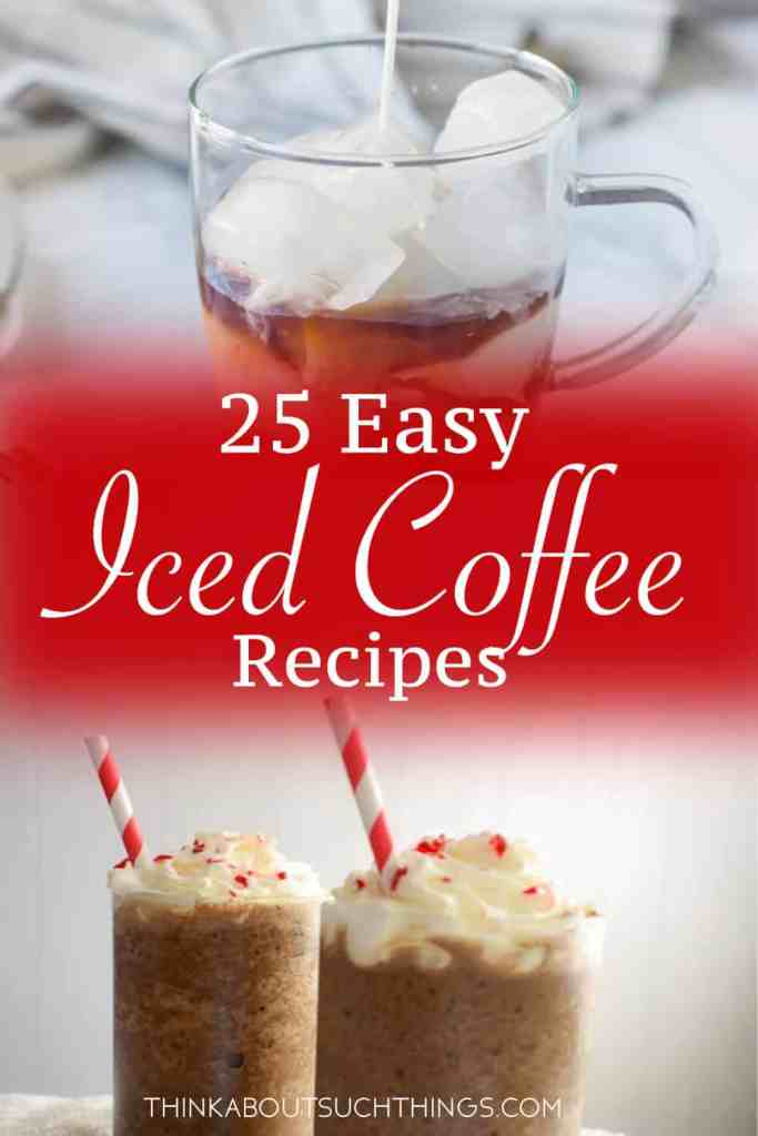 It's getting warm outside! It's time for some delicious easy homemade iced coffee! These recipes are great for summer or those random hot days in spring! Plus cheaper than Starbucks!