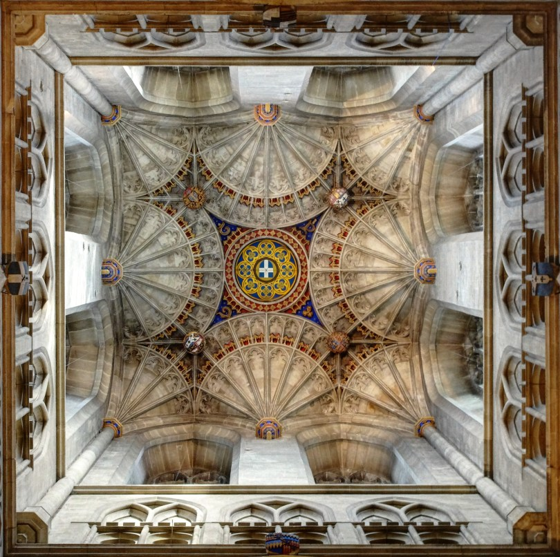 Samuel Ajayi Crowther - Canterbury Cathedral - Roof of Bell Harry Tower