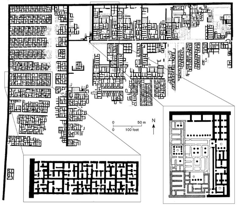 african town planning - pic5 - different types of housing