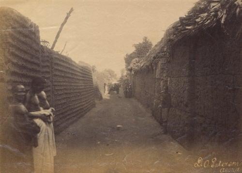 benin - wall