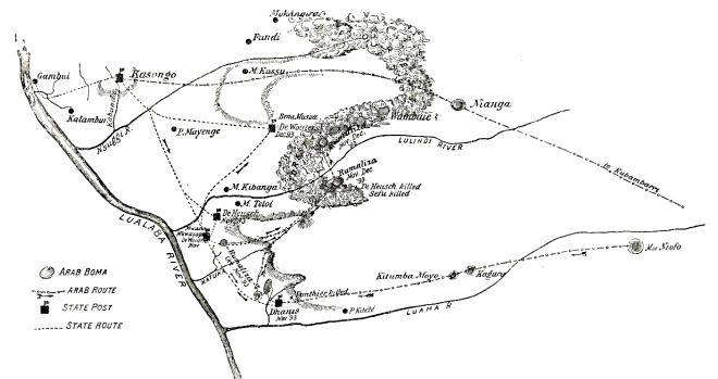 force publique - Attack on Rumaliza's fort, 1893