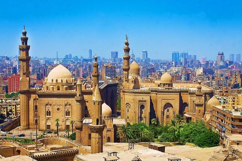 mamluk - Mosque- Madrassa of Sultan Hassan built during the Mamluk era, Cairo, Egypt
