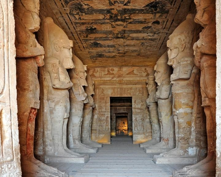 temple abu simbel pic3 - entrance