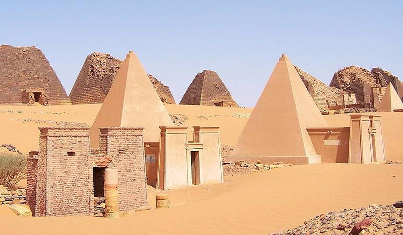 elections in meroe - pic1 - pyramids