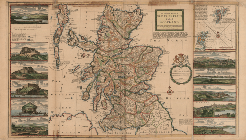 Image result for medieval map of scotland