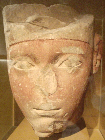 One of the few surviving three-dimensional representations of Amenhotep I contemporary to his reign, now in the Museum of Fine Arts, Boston.