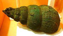 Snail Bronze Vessel from Igbo-Ukwu