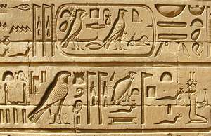 Image result for hieroglyphic writing