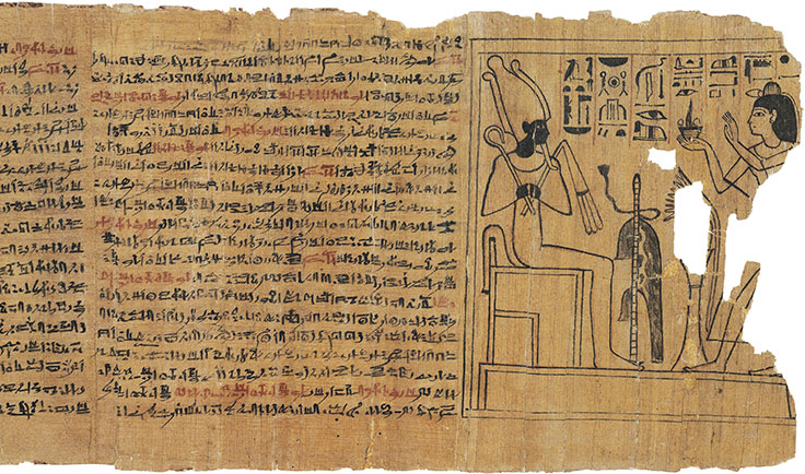 Image result for scrolls of papyrus