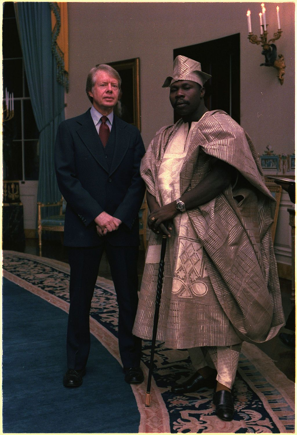Tribes of Nigeria: picture of Olusegun Obasanjo