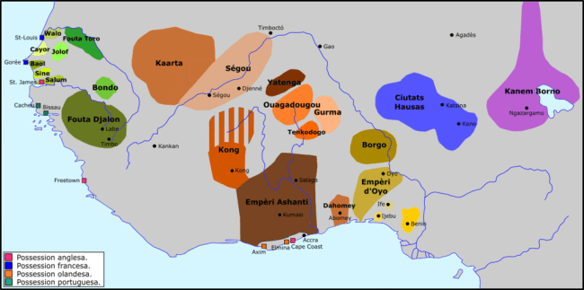 atlantic slave trade west african kingdoms
