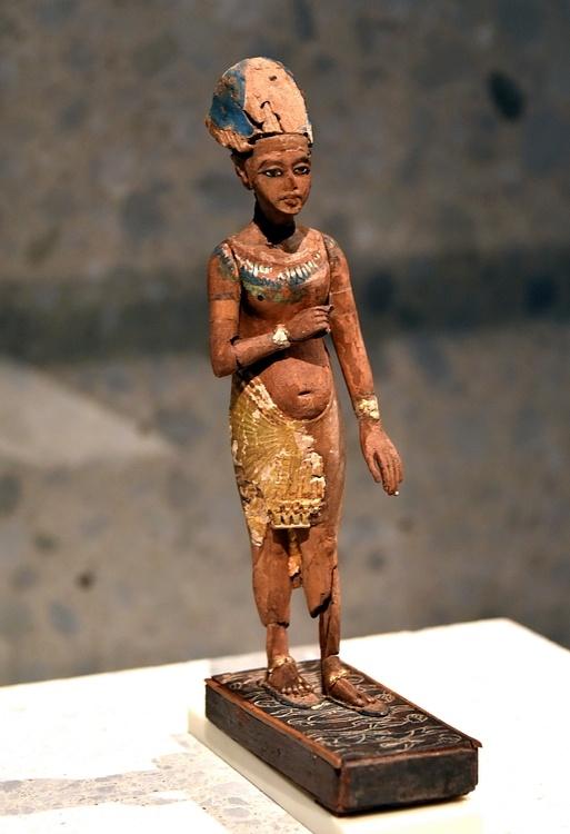 Statue of Akhenaten or Tutankhamun