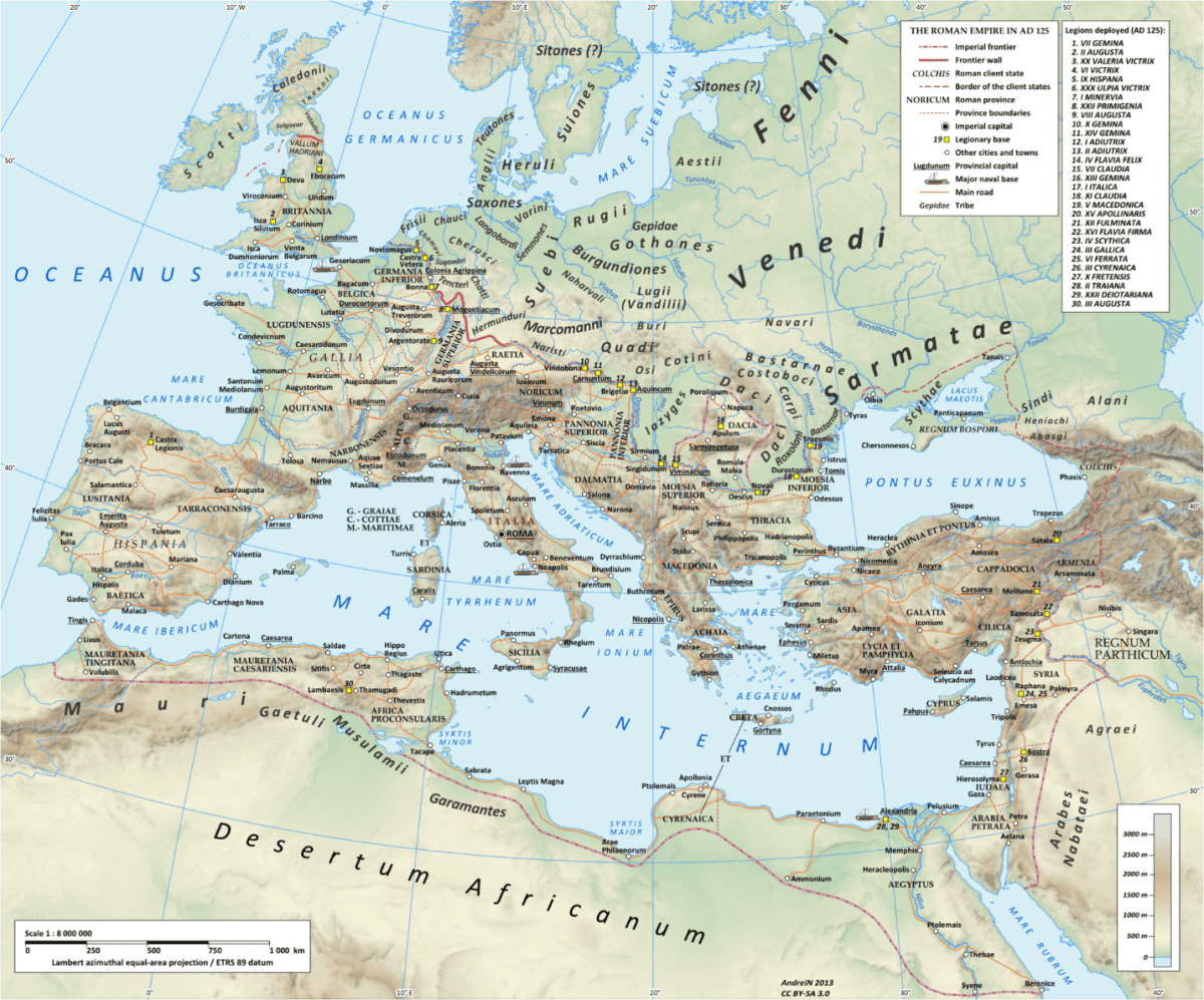 Berber Kingdoms Roman Empire Provinces