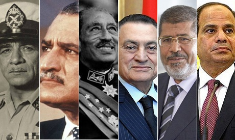 Egypt's seven first presidents - thinkafrica.net