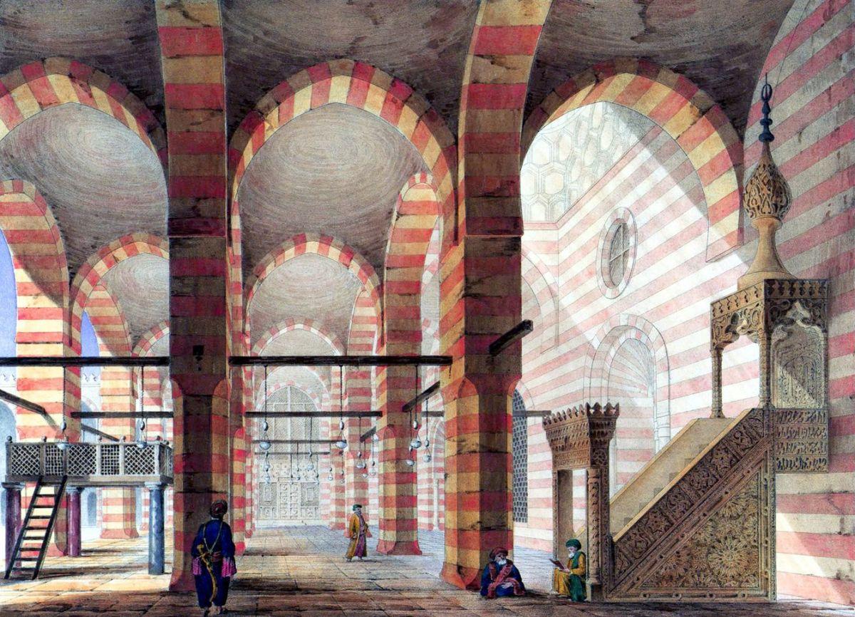 The Interior Of The Mosque Of Sultan Al-Zahir Barquq   Islamic art, Old  Egypt, Islamic architecture - thinkafrica.net