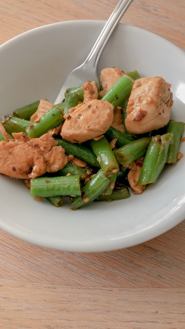 Simple Chicken and Green Beans