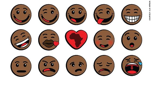 emoticones noir word cv