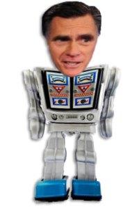 Mitt Romney Mormobot 5000 Android Robot