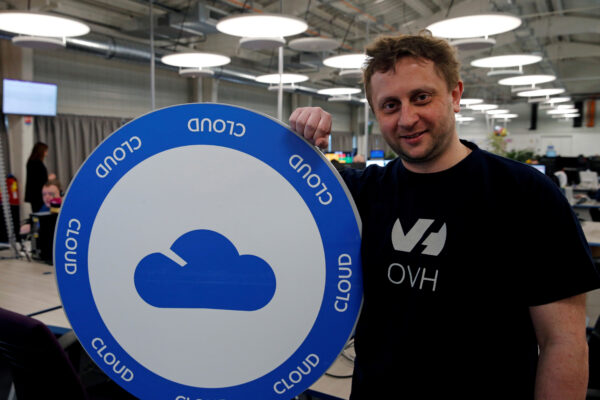 Octave Klaba, founder and Chief Executive Officer of OVH