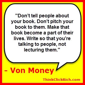 Von Money Quote Writing Great Book Descriptions