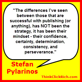 Stefan Pylarinos Self Publishing Success