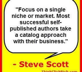 Steve Scott Author Catalog Tactic